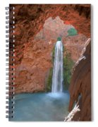Looking Out From The Cave Spiral Notebook