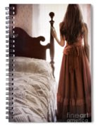 Looking Out The Bedroom Window Spiral Notebook