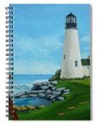 Looking Out To Sea Spiral Notebook