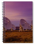Looking Outward Spiral Notebook