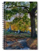 Looking Over The Hill Spiral Notebook