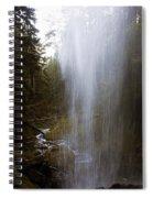 Looking Through Angel Falls Spiral Notebook