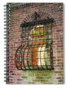 Looking Through Time Spiral Notebook
