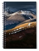 Looking To The Rawahs Spiral Notebook