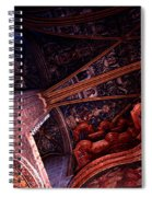 Looking Up Albi Cathedral Spiral Notebook