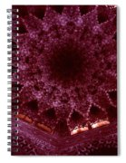 Looking Up Alhambra Stalactite Dome Spiral Notebook
