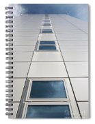 Looking Up At A Modern Building Spiral Notebook