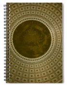 Looking Up Capitol Dome Spiral Notebook