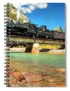 Looking Up From The Riverbed Spiral Notebook