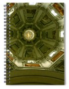 Looking Up Salzburg Cathedral 2 Spiral Notebook