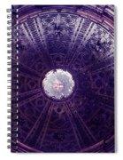 Looking Up Sienna Spiral Notebook