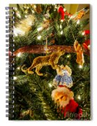 Looking Up The Christmas Tree Spiral Notebook