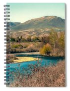 Looking Up The Payette River Spiral Notebook