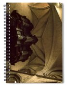 Looking Up Toulouse Cathedral Spiral Notebook