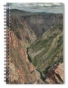 Lookout Below Spiral Notebook