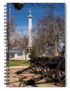 Lookout Mountain Peace Monument 2 Spiral Notebook