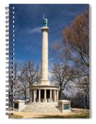 Lookout Mountain Peace Monument 4 Spiral Notebook