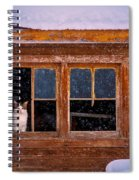Looks Cold Out There Spiral Notebook