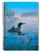 Loon Family Spiral Notebook