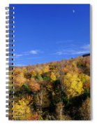 Loon Mountain Foliage Spiral Notebook