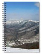 Loon Mountain Ski Resort White Mountains Lincoln Nh Spiral Notebook