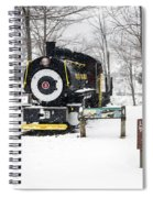 Loon Mountain Train Spiral Notebook