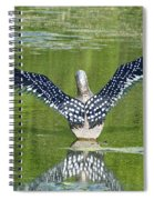 Loon Wings Spiral Notebook