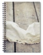 Loosely Draped Spiral Notebook