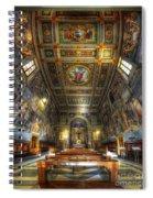 L'oratorio Del Santissimo Crosifisso Spiral Notebook