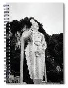 Lord Muruga Spiral Notebook