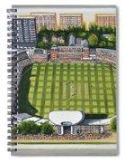 Lords Cricket Ground Spiral Notebook