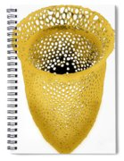 Lorica Shell Of Tintinnid Ciliate Sem Spiral Notebook