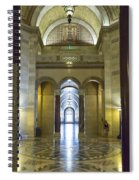 Los Angeles City Hall Rotunda And Hall Spiral Notebook