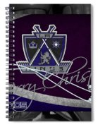 Los Angeles Kings Christmas Spiral Notebook