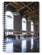 Los Angeles Union Station Original Ticket Lobby Vertical Spiral Notebook