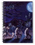 Los Cantantes Or The Singers Spiral Notebook