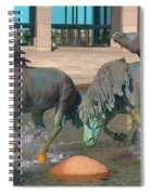Los Colinas Mustangs 14675 Spiral Notebook