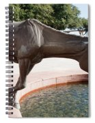 Los Colinas Mustangs 14687 Spiral Notebook