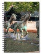 Los Colinas Mustangs 14707 Spiral Notebook
