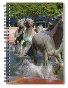 Los Colinas Mustangs 14710 Spiral Notebook