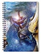 Los Espectros Que Duermen  Spiral Notebook