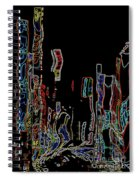 Losing Equilibrium - Abstract Art Spiral Notebook