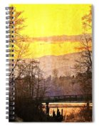 Lost Along The River Spiral Notebook
