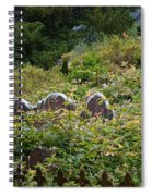 Lost Amongst The Vines Spiral Notebook
