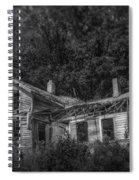 Lost And Alone Spiral Notebook