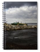 Lost Boats Spiral Notebook