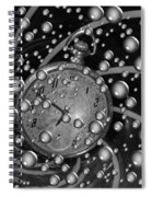 Lost In A Space And Time Spiral Notebook