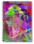 Lost In Abstract Space 20130611 Long Version Spiral Notebook