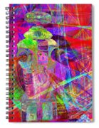 Lost In Abstract Space 20130611 Spiral Notebook