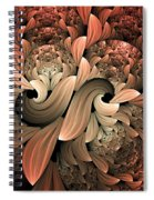 Lost In Dreams Abstract Spiral Notebook